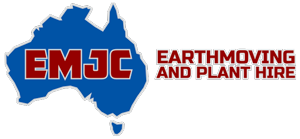 EMJC Earthmoving & Plant Hire Logo